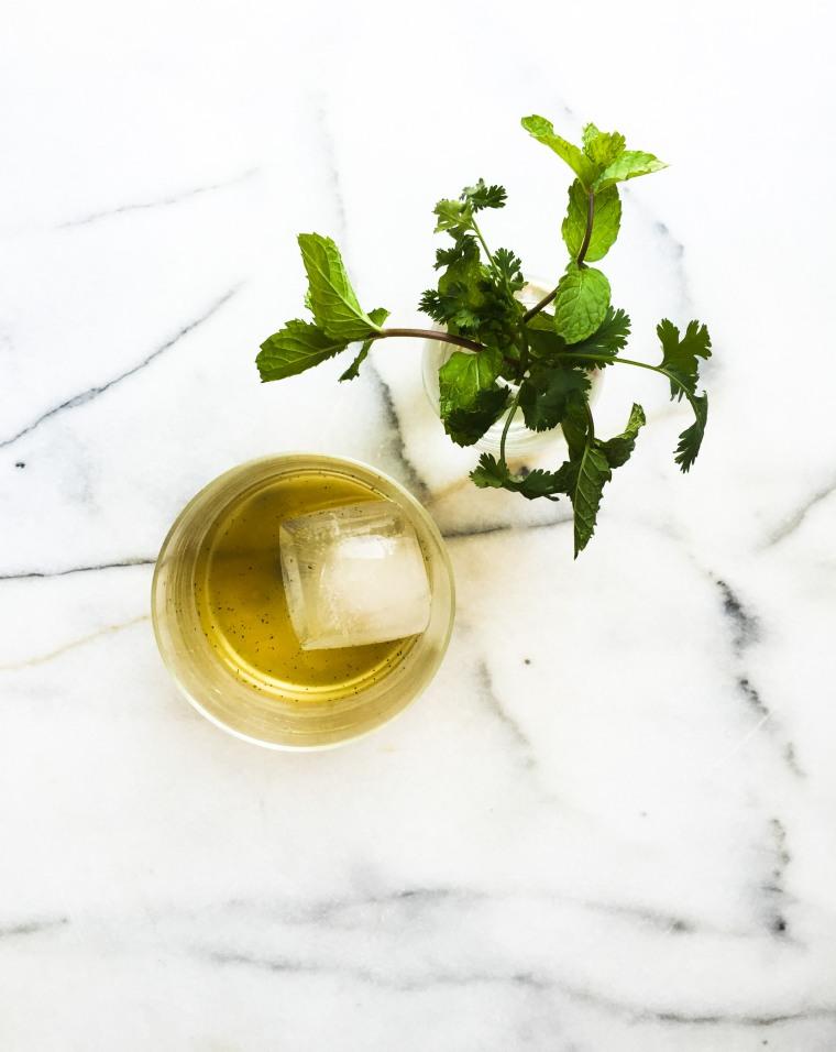 cilantro mint cooler ii
