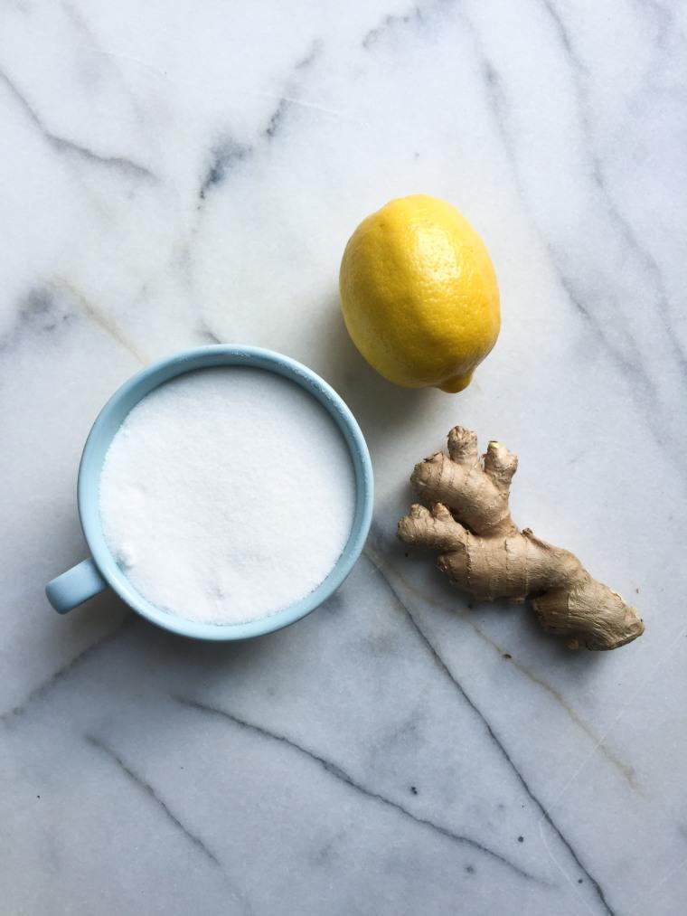 lemong ginger syrup