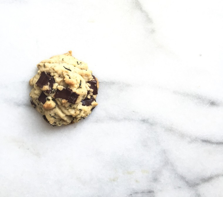 Jasmine Dark Chocolate Chip Cookie