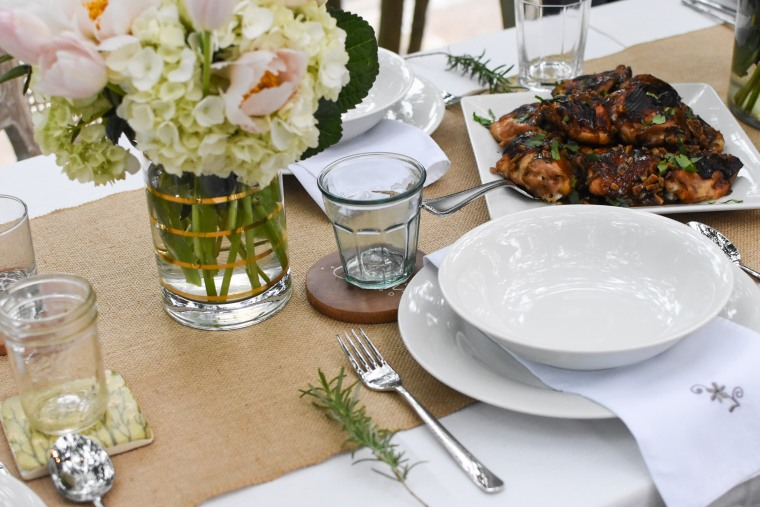 chicken and flowers i