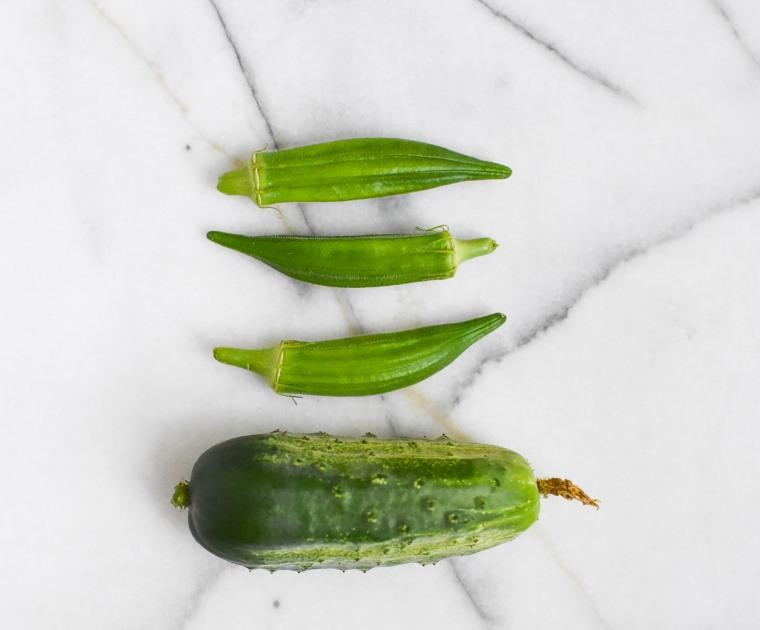 okra cucumber blog