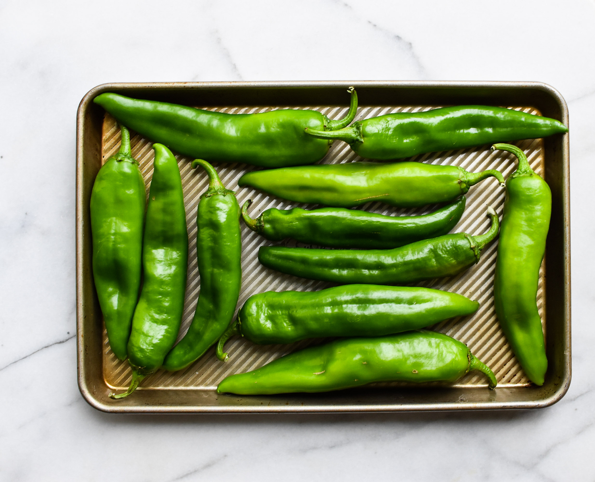 How To Broil Hatch Green Chiles A Pleasant Little Kitchen