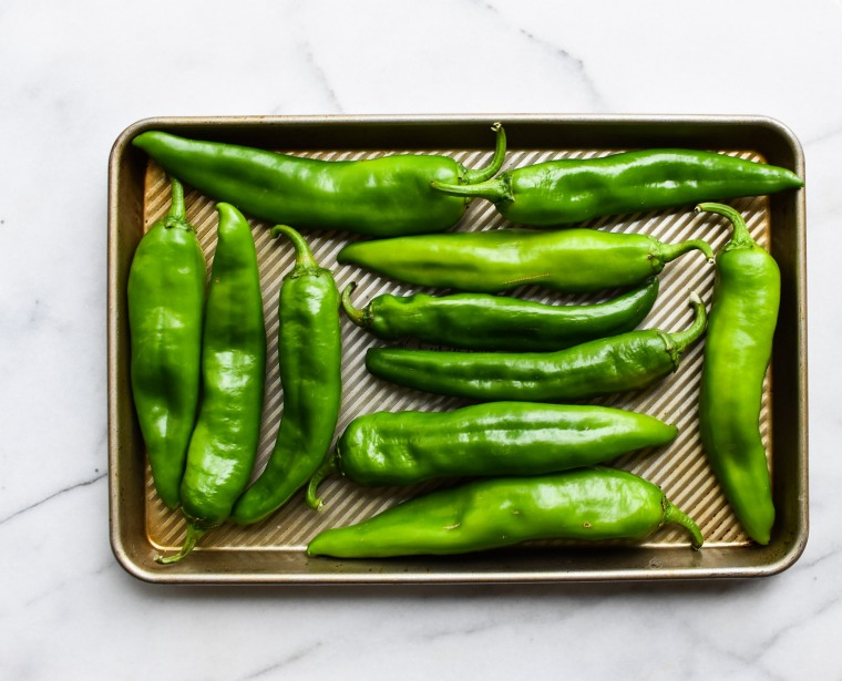 hatch chiles pan