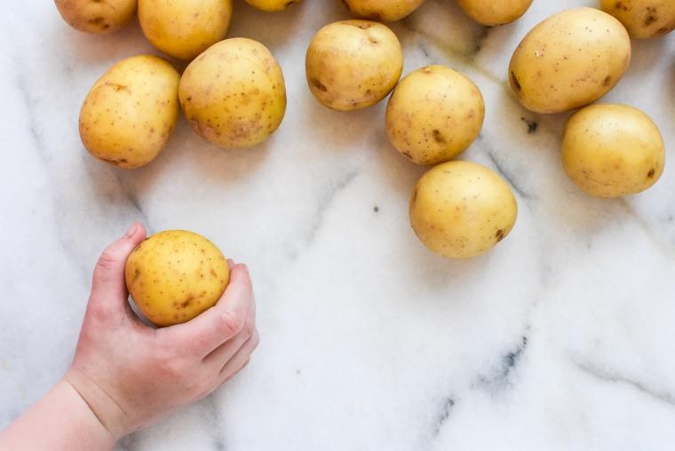 paw and potato