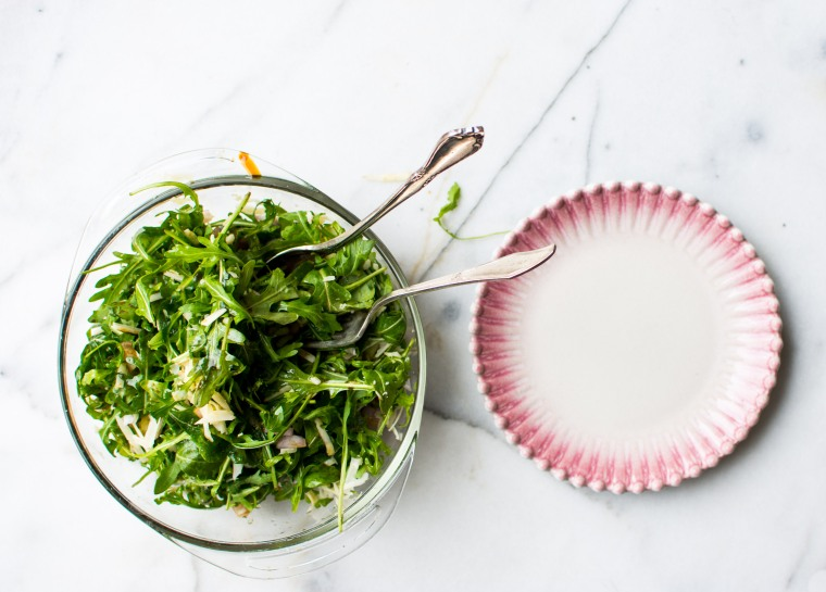 bowl-of-salad-and-plate-ii