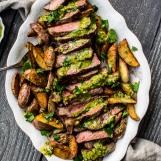 steak and potato v