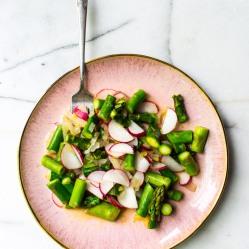 asparagus radish salad (1 of 1)