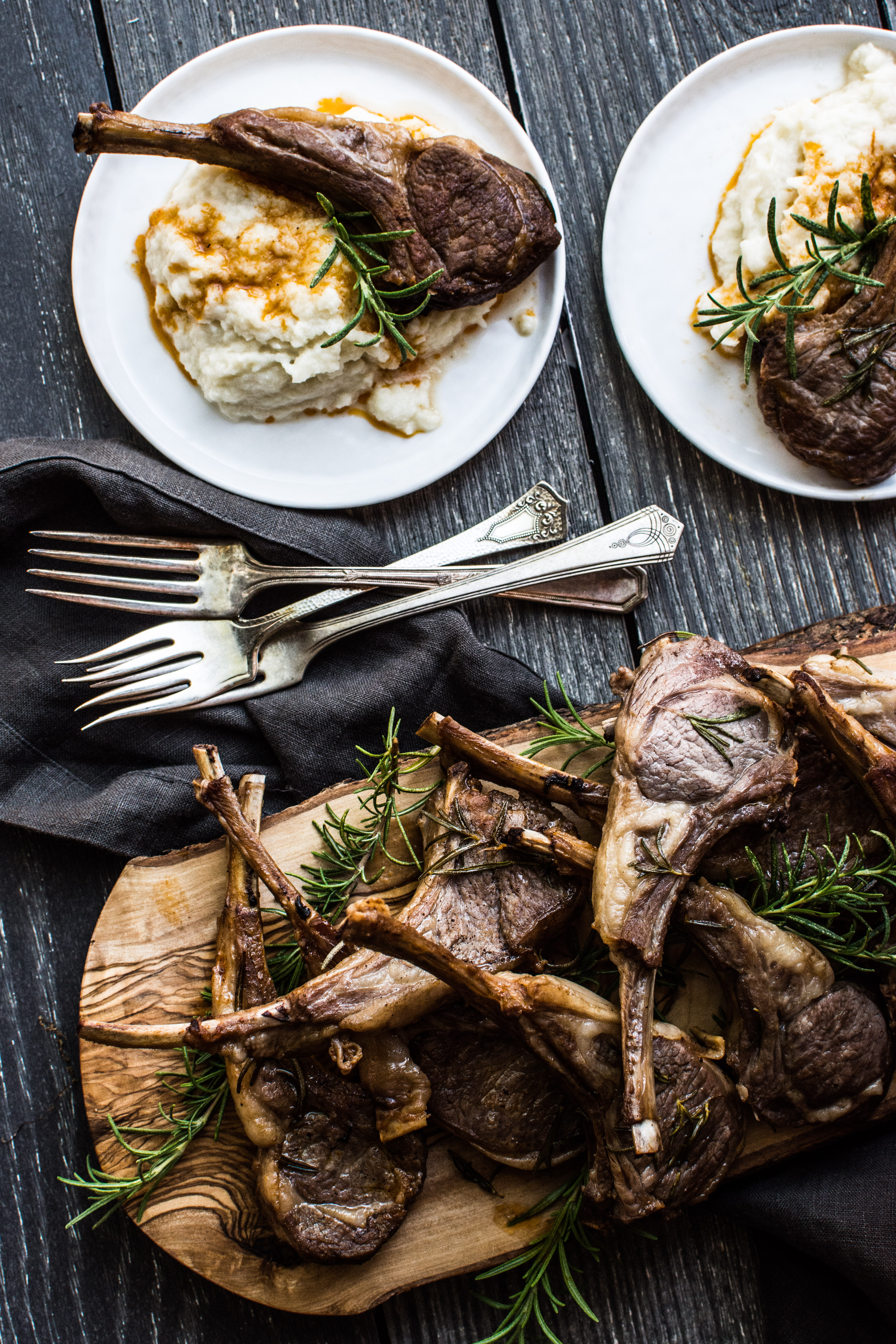 Author Note: A Quick Sear And Cook In The Instant Pot Ultra Creates A  Decadent Meal Of Salty Lamb Chops And A Rosemary And Tomato Infused Pan  Sauce.