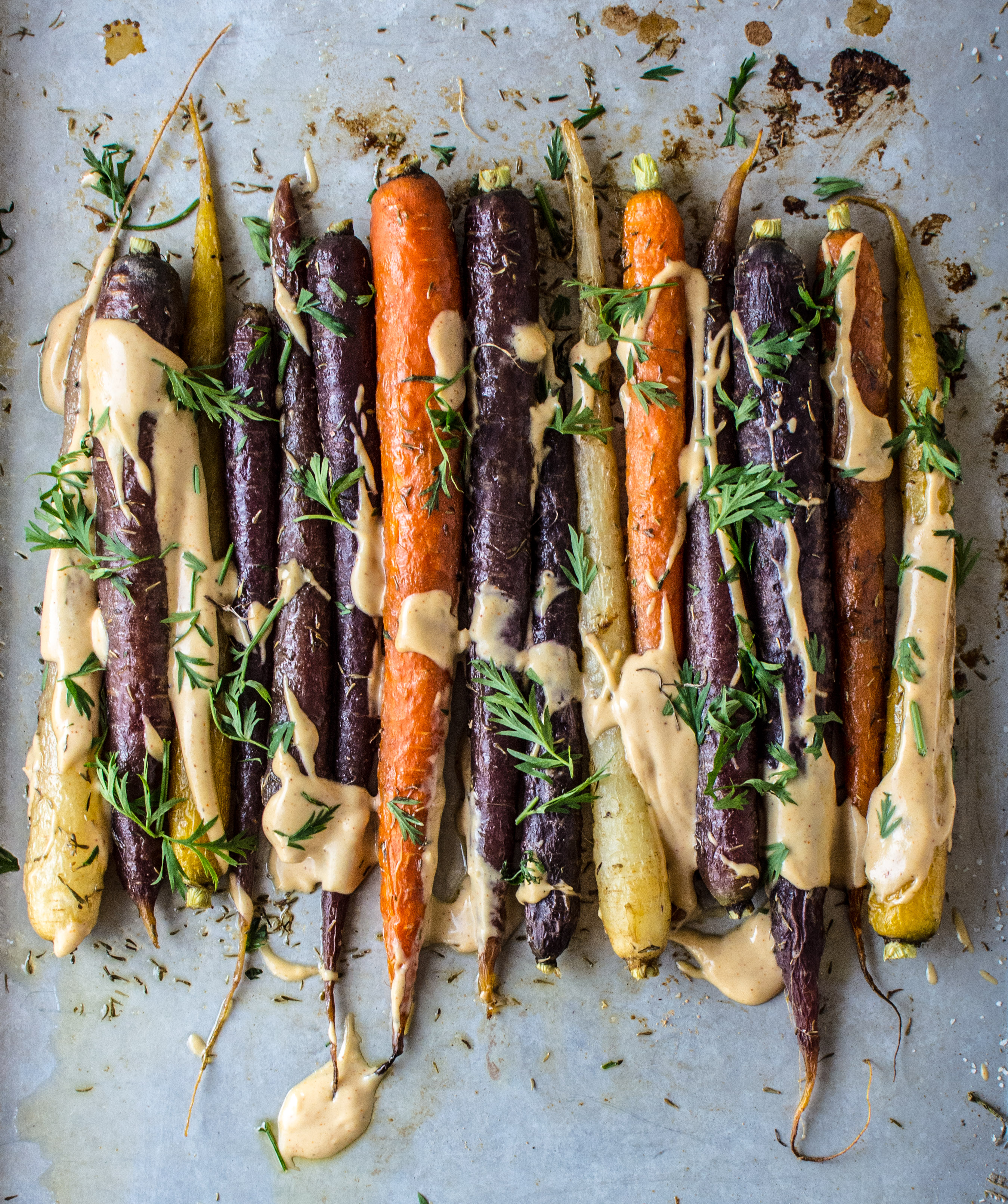 Image result for carrots + tahini